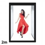 Επαγγελματικό Μεγάλο Στούντιο Φωτογράφισης 200x120cm με Ενσωματωμένο Φωτισμό LED 240W 5500K - Photo Studio Box