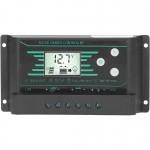 Ρυθμιστής Φόρτισης Μπαταριών για Φωτοβολταϊκά Συστήματα 30A PWM 12V/24V με 2 θύρες USB