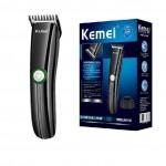 Επαναφορτιζόμενη ασύρματη ξυριστική & κουρευτική μηχανή Kemei