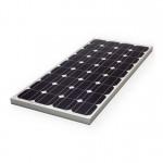 Φωτοβολταϊκό Πάνελ 50W, 17.6V Μονοκρυσταλλικός Συλλέκτης Solar Panel BAO με Πλαίσιο Αλουμινίου