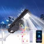 Ηλιακό Φωτιστικό LED 35W με Hi-Fi Ηχείο και Bluetooth Music Box Αδιάβροχο Εξωτερικού & Εσωτερικού Χώρου