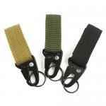 Σετ Κρεμαστών Γάντζων Carabiner Molle Velcro για Ζώνες & Σακίδια Στρατιωτικού Τύπου