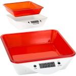 Ψηφιακή Ζυγαριά Κουζίνας με Αποσπώμενο Μπολ 5kg - Electric Kitchen Scale Κόκκινο