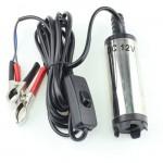 Ηλεκτρική Αντλία 30 lt/m Αναρρόφησης Πετρελαίου - Λαδιού Αυτοκινήτου / Οχημάτων 12V