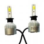 Εμπρόσθια Φώτα Αυτοκινήτου 8000LM 9006 LED  CANBUS - 72W (2x36W) 6500K - Λαμπτήρες 2τμχ