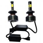 Εμπρόσθια Φώτα Αυτοκινήτου 6400LM (2x3200) 9006 LED FULL CANBUS - 72W (2x36W) 6000K - Λαμπτήρες 2τμχ