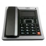 Ενσύρματο Σταθερό Τηλέφωνο Caller ID Phone με Ευανάγνωστη Οθόνη, Αναγνώρηση Κλήσεων, Ανοιχτή Ακρόαση, Αριθμομηχανή & Ξυπνητήρι