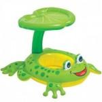 Βρεφικό - Παιδικό Σωσίβιο Κάθισμα Βάτραχος με Σκίαστρο 8251
