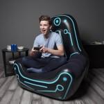 Φουσκωτή Πολυθρόνα με Πλαϊνή Θήκη - Ιδανική για Gaming Bestway Mainframe Air Chair 75077
