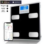 Έξυπνη Ψηφιακή Ζυγαριά 180kg με Bluetooth Εφαρμογή Κινητού για Πλήρη Έλεγχο Βάρους & Μεταβολισμού TY-2013A