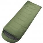Μονός Υπνόσακος με Κουκούλα 200x75cm - Sleeping Bag Χακί OEM