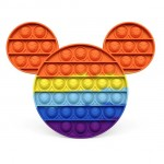 Poppy Πολύχρωμο Αγχολυτικό Παιχνίδι Anti-Stress - Fidget Bubble Pop it Mickey Mouse OEM