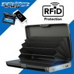 Πορτοφόλι Ασφαλείας Καρτών RFID & Powerbank USB 2 σε 1 - E-Charge Wallet
