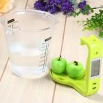 Κούπα Μέτρησης με Ζυγαριά Ψηφιακή LCD 600ml - Digital Scale with Measuring Cup