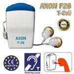 Ακουστικά Ενίσχυσης Ακοής & Βοήθημα Βαρηκοίας AXON® F28 T-Coil