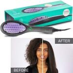 3D Θερμαινόμενη Βούρτσα Κεραμική Γρήγορου Ισιώματος Μαλλιών - Μπούκλας Frizz Free - DAFNI Hair Straightening Brush