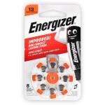 Μπαταρία ακουστικών βαρηκοΐας ZA13, 1.4V, σε blister 8 μπαταριών