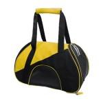 Τσάντα Μεταφοράς Κατοικιδίων Σκύλου - Γάτας 47x24x28cm σε Κίτρινο Χρώμα