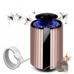 2 σε 1 Εξολοθρευτής Κουνουπιών LED & Απωθητικό Τρωκτικών με Υπερήχους USB - Αντικουνουπικό με Αναρρόφηση - UV Mosquito Killer & Ultrasonic Repeller