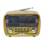 Φορητό Επαναφορτιζόμενο Ρετρό Ραδιόφωνο /Ασύρματο Ηχείο Bluetooth M-166BT