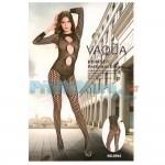 Ολόσωμο Σέξι Καλσόν Σιθρού με Διχτυωτά Σχέδια 8994 - Sexy Lingerie Bodystockings