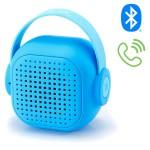 Μίνι Ηχείο Τσέπης Bluetοoth TWS με Μικρόφωνο για Hands-free Κλήσεις με Επαναφορτιζόμενη Μπαταρία WSTER WS-302 - Γαλάζιο