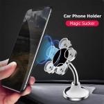 Βάση Αυτοκινήτου Κινητού με Βεντούζες Περιστρεφόμενη 360° - Universal Car Phone Holder Suction Cups