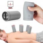 Ηλεκτρικές Βεντούζες Μασάζ EMS με Ηλεκτρομαγνητικούς Παλμούς Επαναφορτιζόμενες - Magic Jar Massager