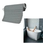 Αντιολισθητικό Πατάκι Μπάνιου με Βεντούζες 50 x 50cm - Γκρι