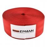 Ζώνη Ασφαλείας Αυτοκινήτου Υψηλής Αντοχής 10m για DIY - Ιμάντας Πολυεστέρα EPMAN EPWR2018M10 - Κόκκινο