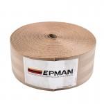 Ζώνη Ασφαλείας Αυτοκινήτου Υψηλής Αντοχής 10m για DIY - Ιμάντας Πολυεστέρα EPMAN EPWR2018M10 - Καφέ Ανοιχτό