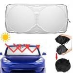 Πρακτική Πτυσσόμενη Ηλιοπροστασία (Σκίαστρο) ΠαρΜπριζ Ταμπλό Αυτοκινήτου Αναδιπλούμενη