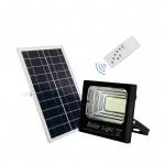 Αδιάβροχος Ηλιακός Επαναφορτιζόμενος Προβολέας 200W με Φωτοβολταϊκό Πάνελ,Τηλεχειριστήριο και Χρονοδιακόπτη FO 88200