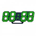 Ψηφιακό Ρολόι / Ξυπνητήρι Εσωτερικού Χώρου με Οθόνη LED & Θερμόμετρο, Επιτραπέζιο - Επιτοίχιο - Fashion Clock