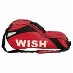 Τσάντα Ρακετών Tennis με Μονό Ιμάντα Μεταφοράς Wish 1910 Κόκκινη 76x20x35cm