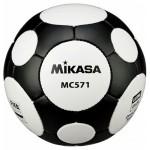 Μπάλα Ποδοσφαίρου Mikasa MC571 No.5 FIFA Approved Άσπρη/Μαύρη