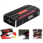 Εκκινητής Power Bank με LED Φακό & 4 USB Θύρες 68800 mAh- Jump Starter Τροφοδοτικό - Φορτίζει από Κινητό μέχρι Αυτοκίνητο