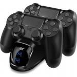 Διπλή Βάση Φόρτισης Dualshock Controller PS4 Sako