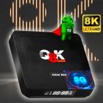 Μετατροπέας Smart TV UHD 5G WiFi Android 10 με Οθόνη LCD 64GB - 4GB RAM SD / USB 2.0 - Andowl Q8K
