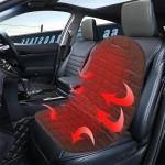 Θερμαινόμενο Κάλυμμα Καθίσματος Αυτοκινήτου 12v με 2 Επίπεδα Θέρμανσης Hi - Lo