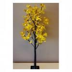 Εντυπωσιακό Διακοσμητικό Φωτιζόμενο Δέντρο 160cm Φθινοπωρινό - Προσαρμοζόμενα Κλαδιά & Led Φωτισμός