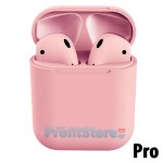 inPods Pro Ασύρματα Ακουστικά Αφής Bluetooth 5.0 In-Ear Detection Earphones με Θήκη Φόρτισης, Αυτόματη Σύνδεση Pop-up στο Κινητό - Ροζ