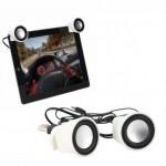 Mini Επαναφορτιζόμενα Φορητά Ηχεία Clip-On για Tablet & Κινητά Τηλέφωνα