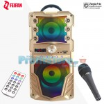 Φορητό Bluetooth Ηχοσύστημα USB/SD Karaoke Mp3 Player - Multimedia Speaker FEIFAN RX-S59