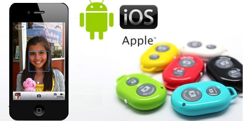 Bluetooth Wireless Remote Shutter για Apple iOS & Android συσκευές