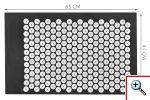 Μαξιλάρι-Χαλάκι Μασάζ Acupressure Mat 2 σε 1
