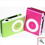 Mini portable MP3 Player Micro SD - Aluminum alloy