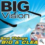 Γυαλιά με Μεγεθυντικούς Φακούς 160% Big Vision Eyewear