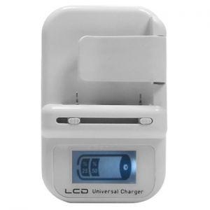 Ψηφιακός Φορτιστής Μπαταρίας Κινητών Τηλεφώνων με LCD Οθόνη και Θύρα USB
