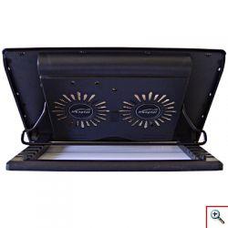 Laptop Cooler Hongtai με Ισχυρό Σύστημα Ψύξης,2 Ανεμιστήρες και 5 Επιλογές Ύψους